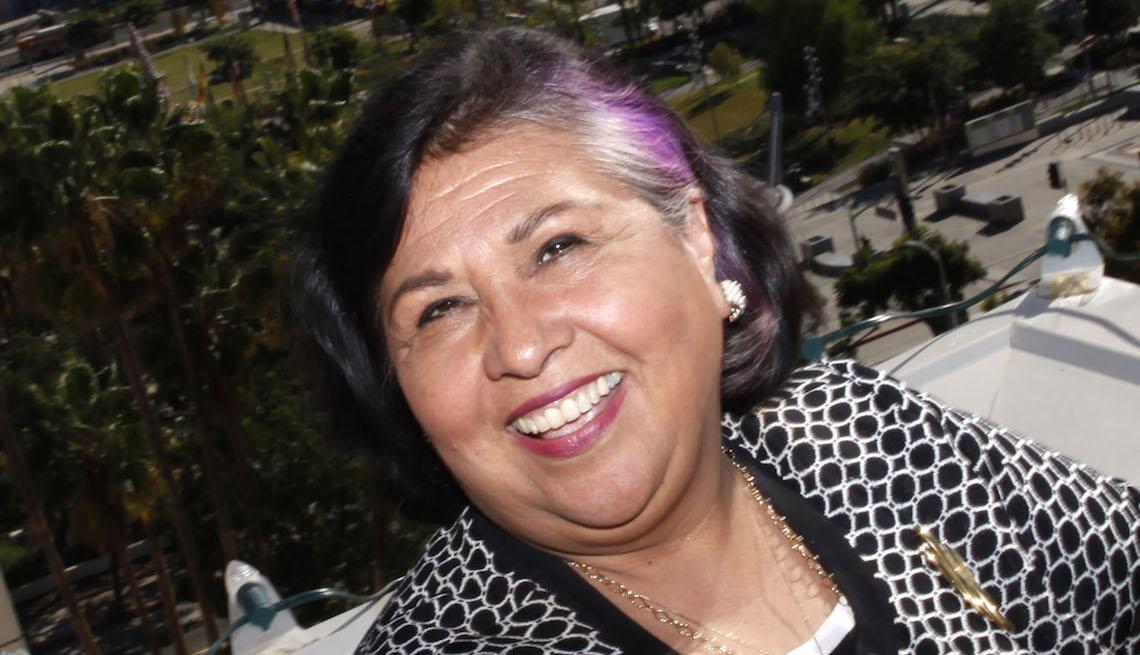 Los Angeles County Supervisor Gloria Molina
