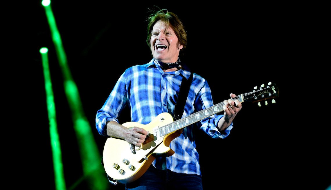 item 5, Gallery image. John Fogerty performs onstage during 2016 Stagecoach California's Country Music Festival at Empire Polo Club on April 30, 2016 in Indio, California.