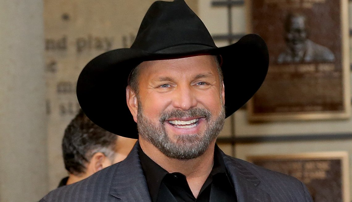 Garth Brooks attends the 2019 Country Music Hall of Fame Medallion Ceremony at Country Music Hall of Fame and Museum on October 20, 2019 in Nashville, Tennessee.