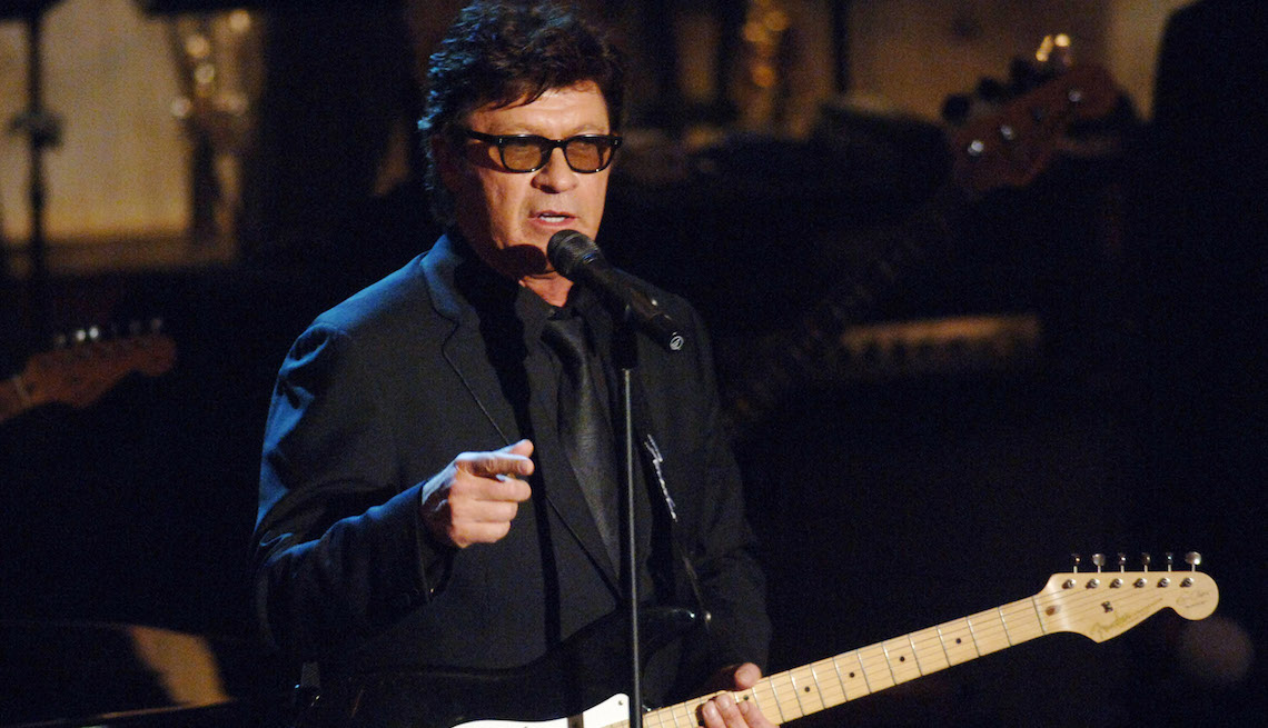 Robbie Robertson during 20th Annual Rock and Roll Hall of Fame Induction Ceremony - Show at Waldorf Astoria Hotel in New York City.