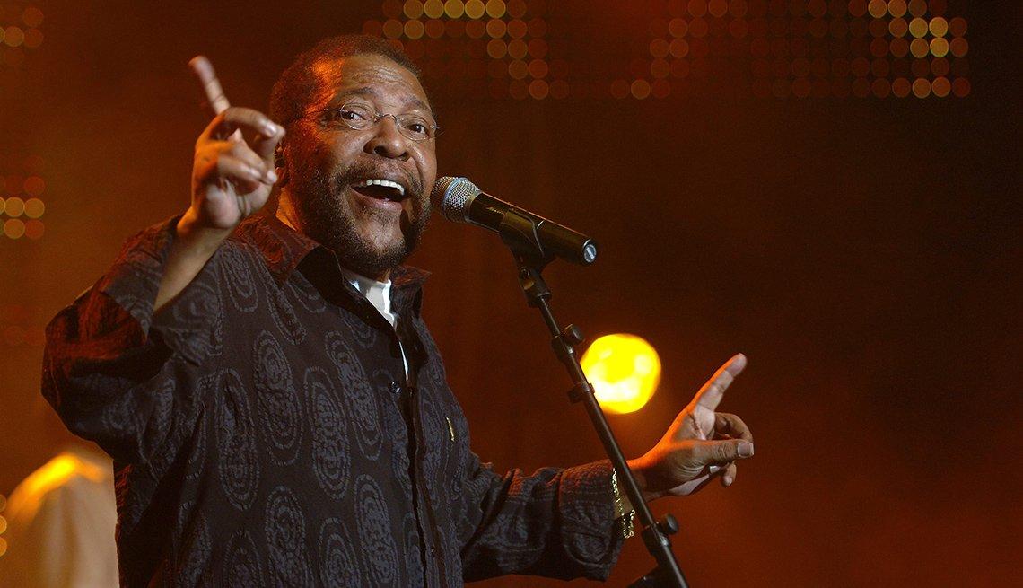 Martinho da Vila en el festival de Jazz Montreux, Suiza, 2006.