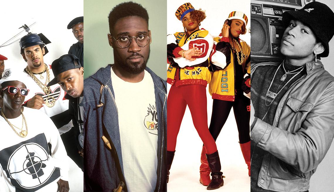 Public Enemy, De La Soul, Salt N Pepa, LL Cool J
