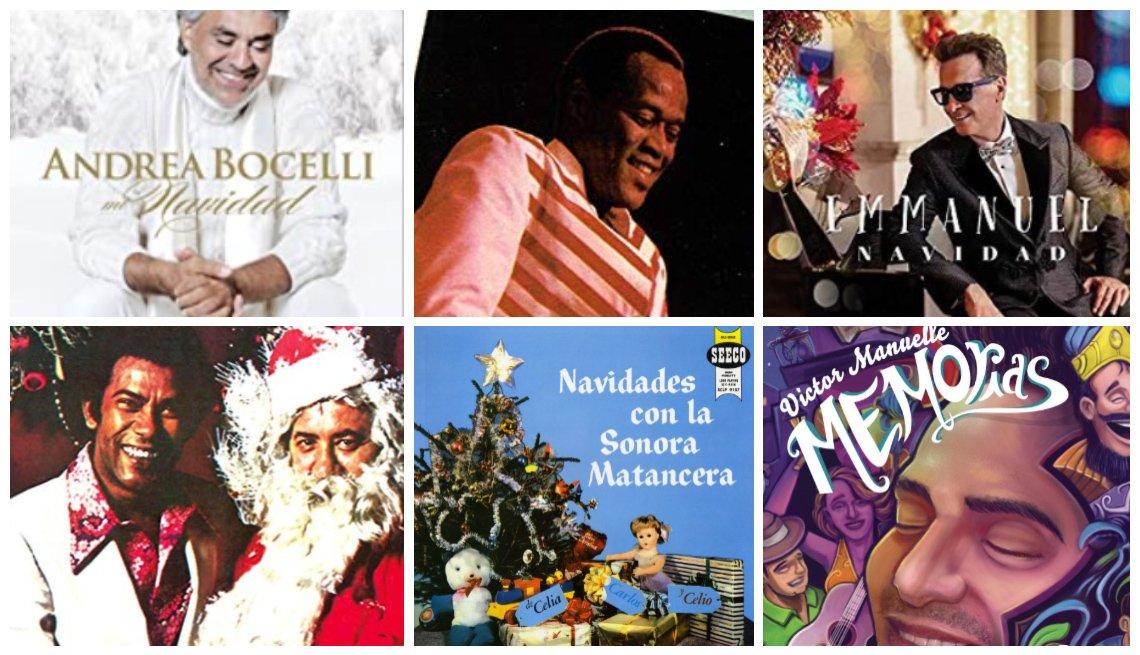 Portadas de discos de Navidad