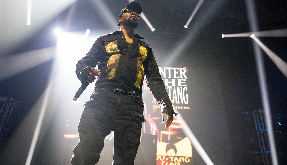 Rapper RZA of Wu-Tang Clan performs during the 36 Chambers 25th Anniversary Celebration at ACL Live on October 07, 2019 in Austin, Texas