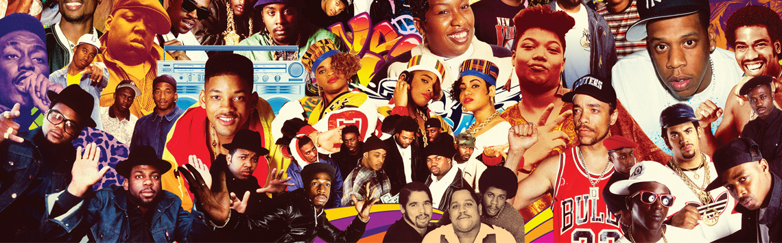 various hip-hop artists