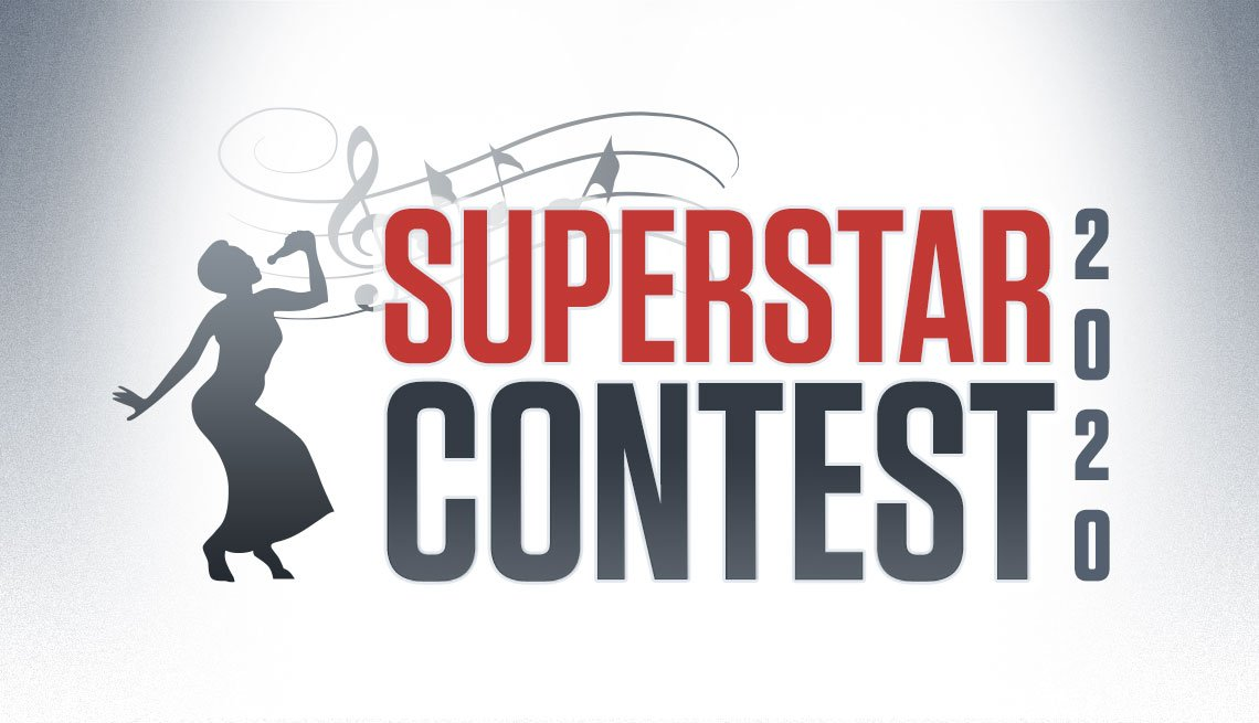 Logotipo del concurso AARP Superstar 2020
