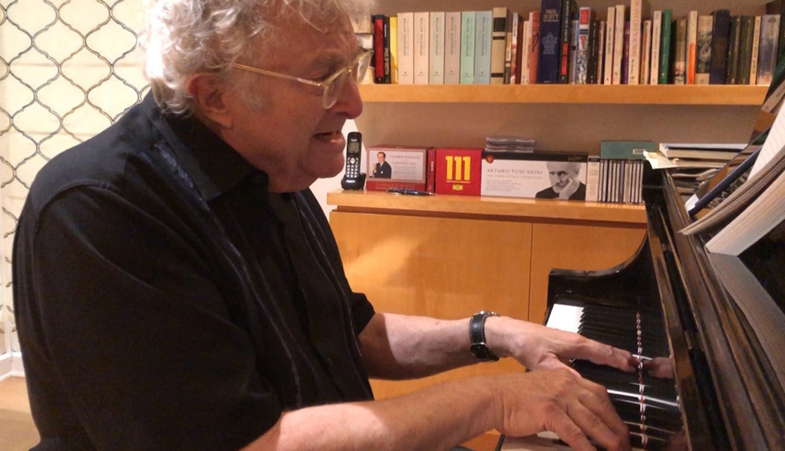 Randy Newman performs virtually on The Tonight Show Starring Jimmy Fallon