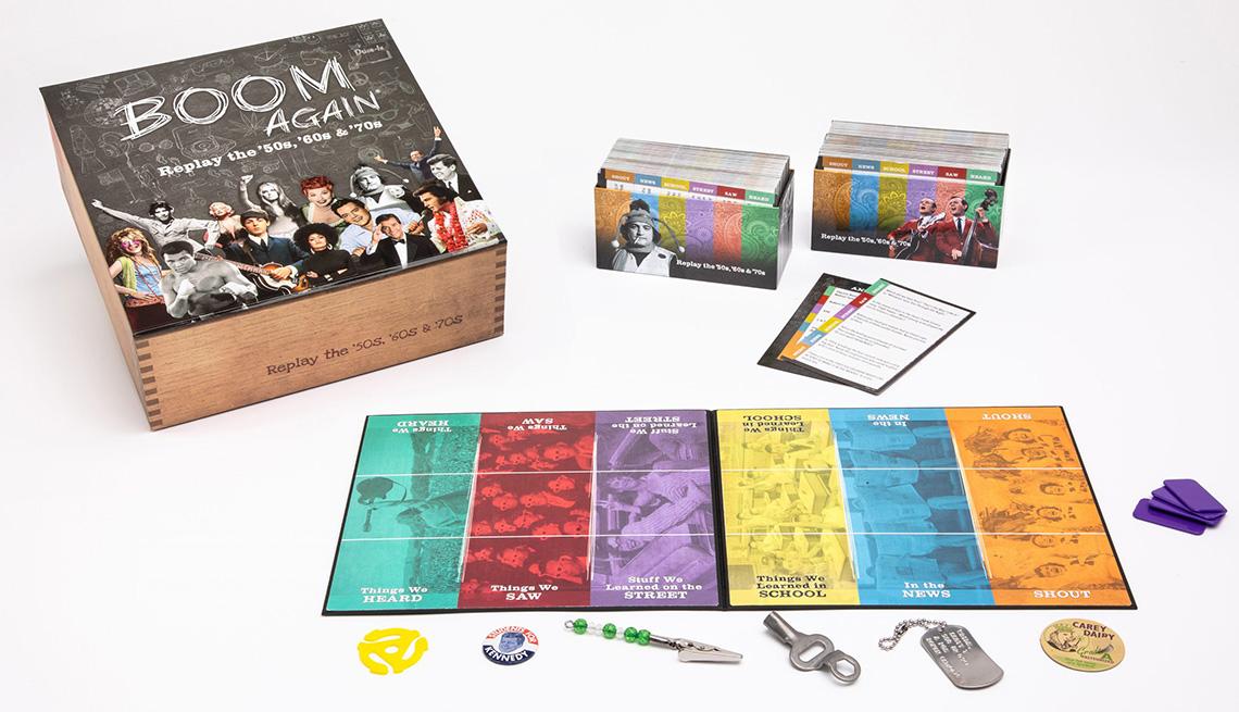 Boom Again trivia board game