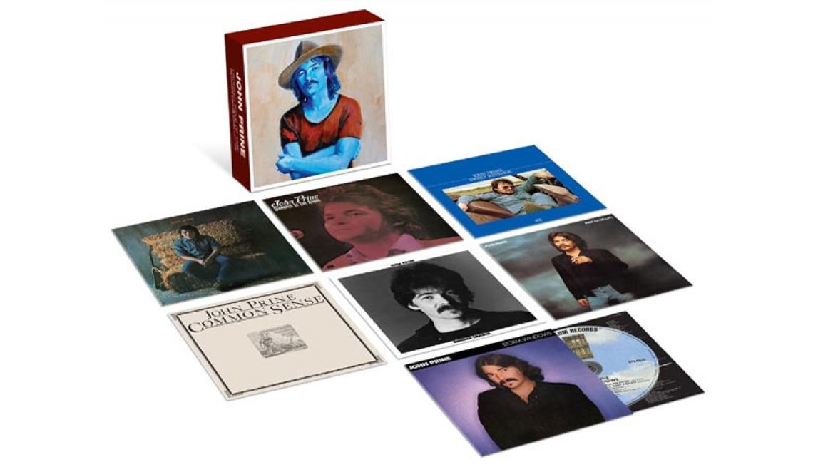 John Prine's Crooked Piece of Time: The Atlantic & Asylum Albums (1971-1980)