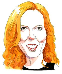 Illustration of Alexis Denny Kaufmann