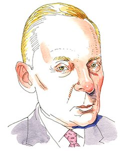 Illustration of Elliot Mintz