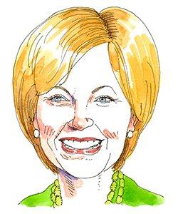 Illustration of Jane Pauley