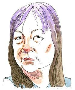 Illustration of May Pang
