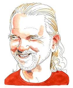 Illustration of Patrick Duffy
