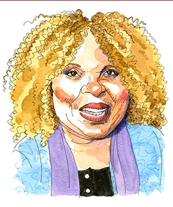 Illustration of Roberta Flack