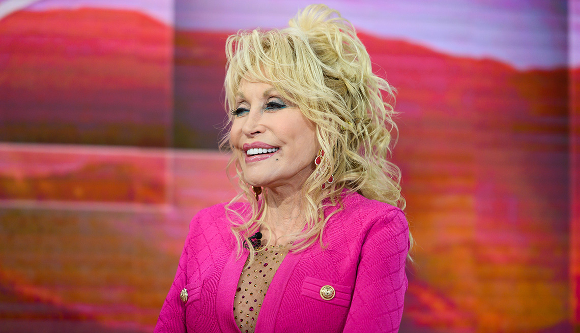 Dolly Parton on the Today show