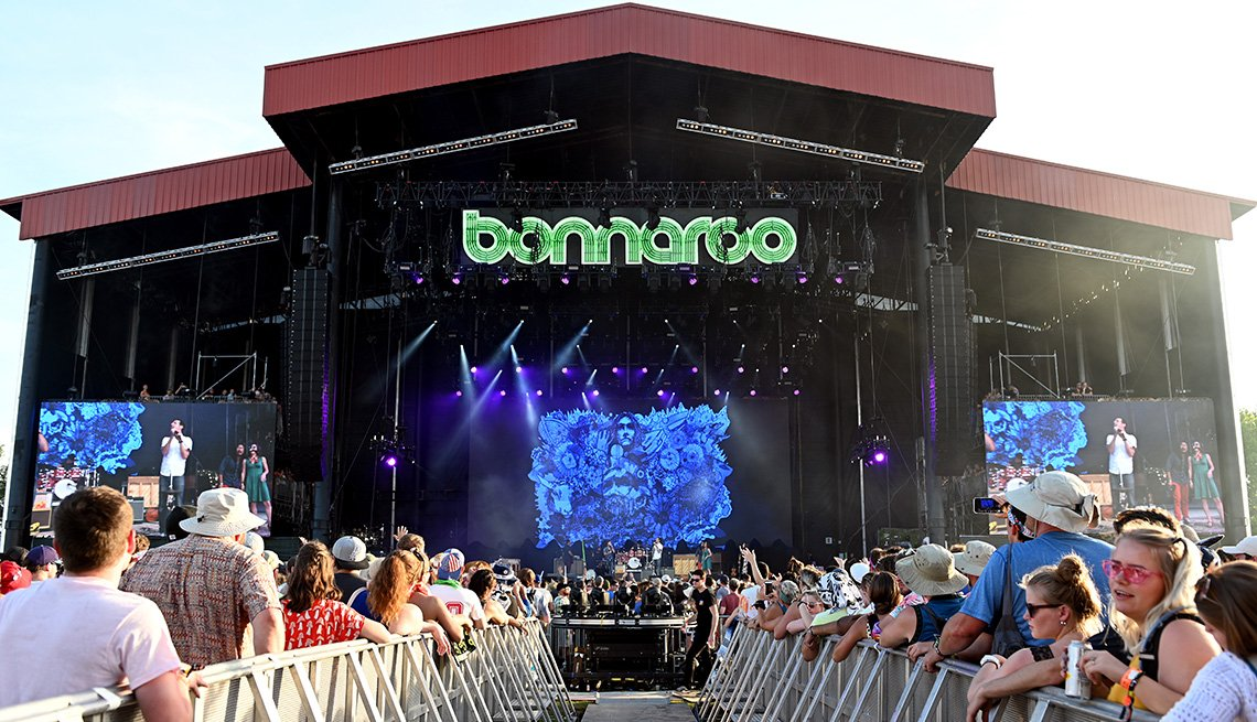 The Avett Brothers perform onstage at the 2019 Bonnaroo Arts And Music Festival