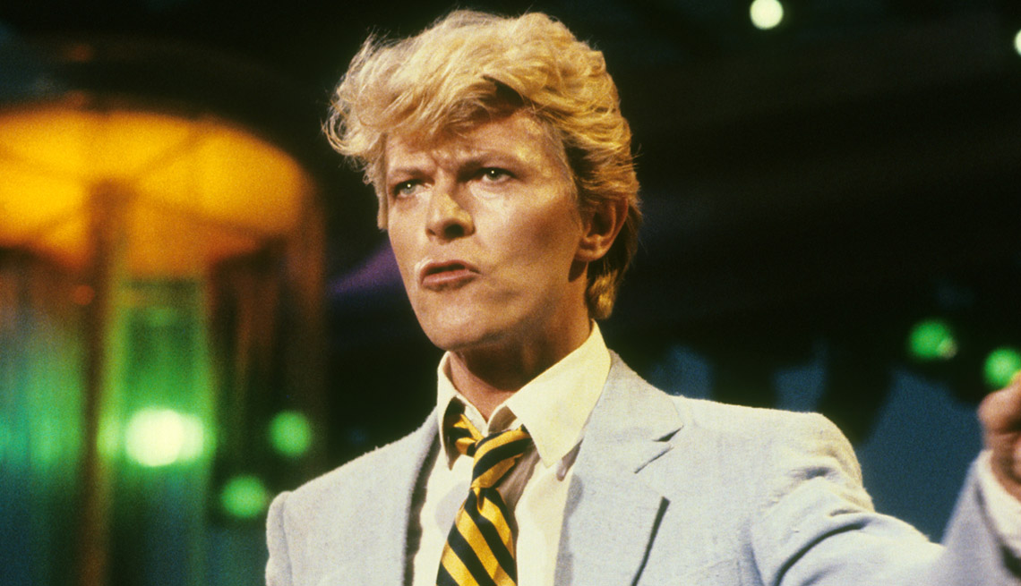 musician and singer songwriter david bowie