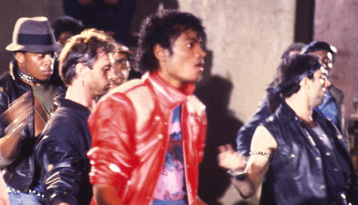 michael jackson in the music video for beat it
