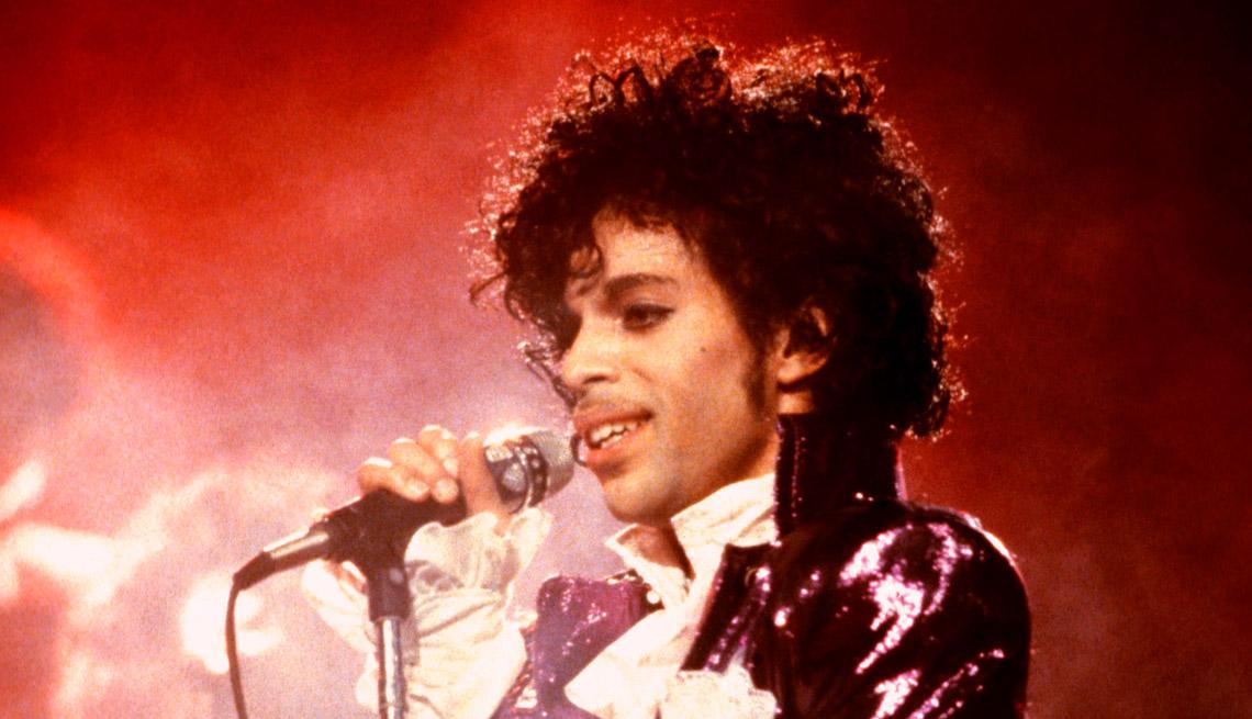 singer songwriter prince on his purple rain tour