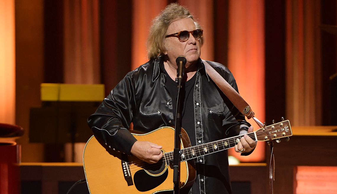 Don McLean performs onstage at C'Ya On The Flip Side: The Troy Gentry Foundation event at The Grand Ole Opry