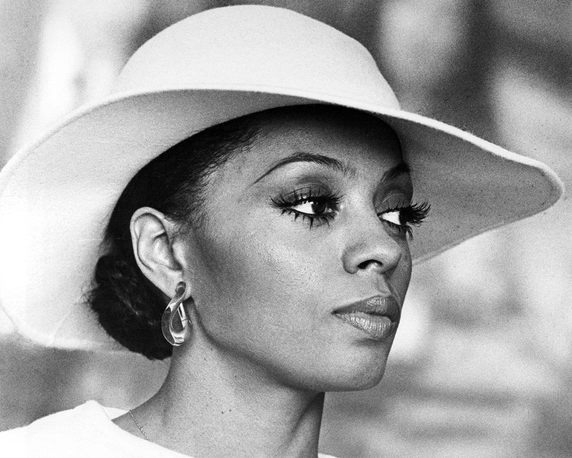 Diana Ross stars in the film Mahogany