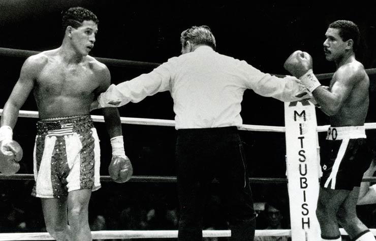 Hector Camacho peleando contra Edwin Rosario, Recordando a Héctor Camacho