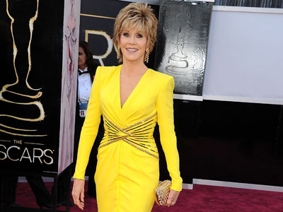 Jane Fonda at 85th Annual Academy Awards, 2013