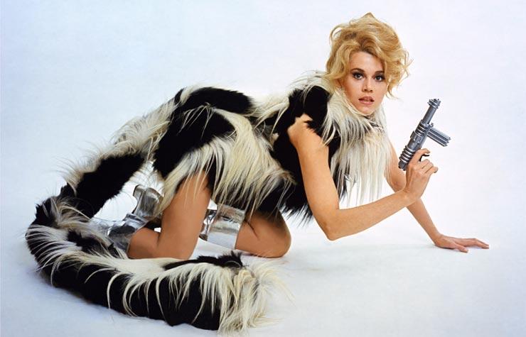 Jane Fonda in Barbarella, 1968