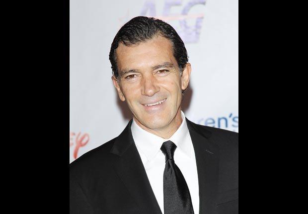 Actor Antonio Banderas - Artistas con 50 años o más