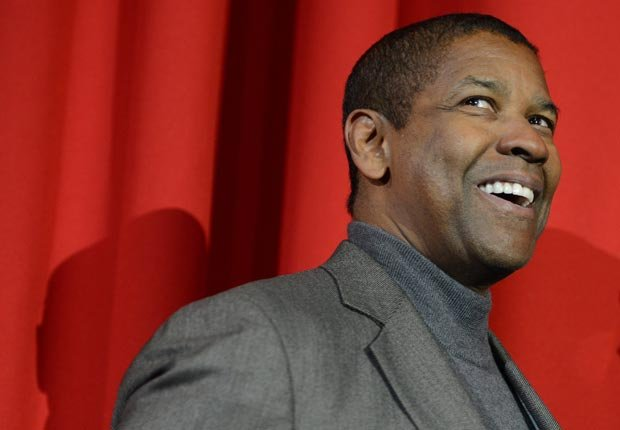 Actor Denzel Washington - Artistas con 50 años o más