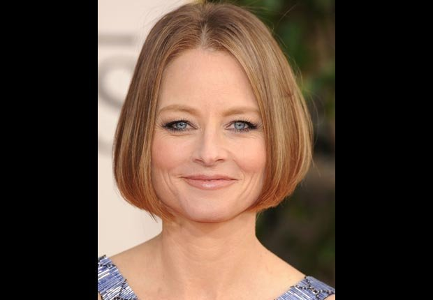 Actress Jodie Foster, 50-plus celebrity