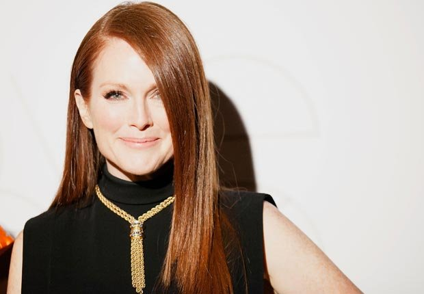 Actress Julianne Moore, 50-plus celebrity