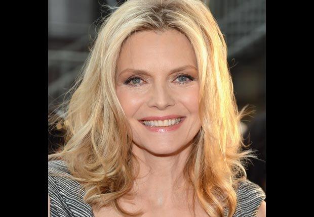 Actress Michelle Pfeiffer, 50-plus celebrity