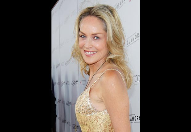 Actress Sharon Stone, 50-plus celebrity