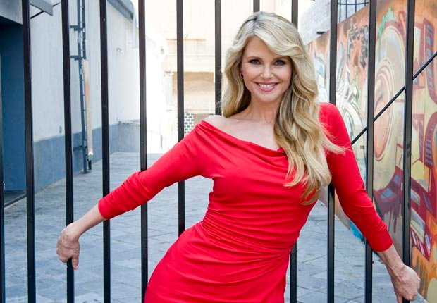 Model Christie Brinkley, 50-plus celebrity