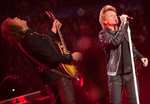 Singer Jon Bon Jovi, 50-plus celebrity