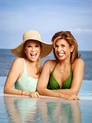 Kathie Lee Gifford and Hoda Kotb (Justin Stephens)