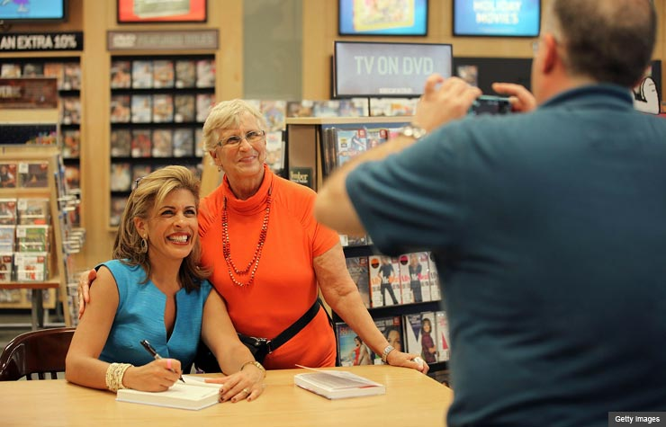 Hoda Kotb Book Signing at Barnes and Noble (Getty Images)