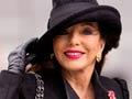 Joan Collins cumple años en mayo.