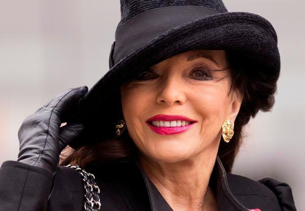 Joan Collins cumple 80 años en Mayo 23, 2013 - Celebridades que cumplen en mayo.