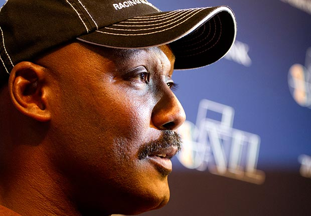 Former Utah Jazz player Karl Malone (Jim Urquhart/AP Images)