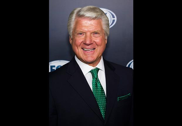 Football broadcaster and former coach Jimmy Johnson (Charles Sykes/Invision/AP Images)