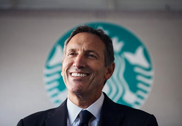 Starbucks CEO Howard Schultz (Melissa Golden/Redux)