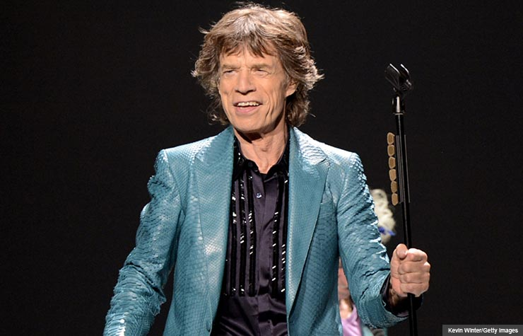 Mick Jagger of the Rolling Stones (Kevin Winter/Getty Images)