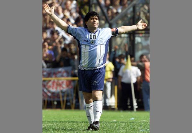 Armando Maradona - Grandes jugadores del fútbol mundial