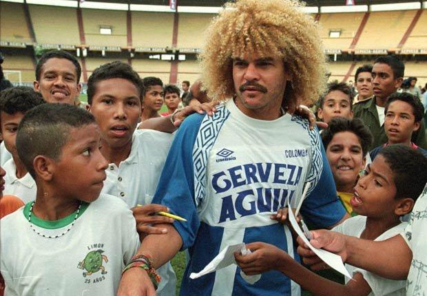 Carlos Valderrama - Grandes jugadores del fútbol mundial