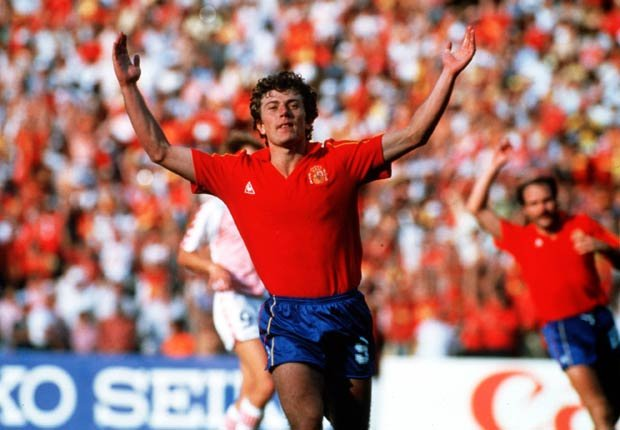 Emilio Butragüeño - Grandes jugadores del fútbol mundial