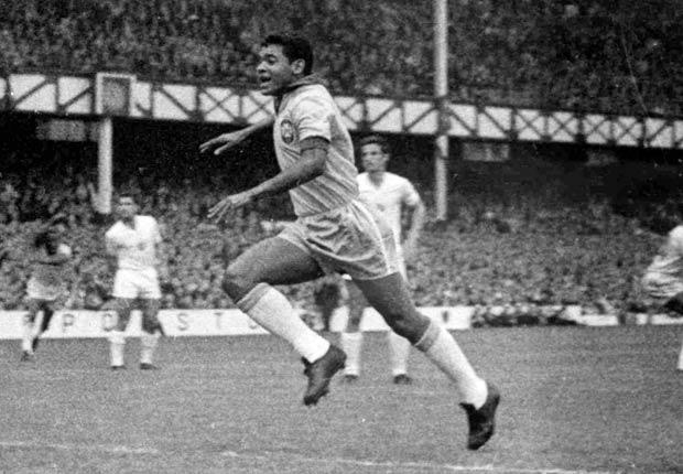 Garrincha- Grandes jugadores del fútbol mundial