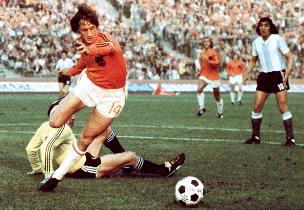 Johann Cruyff - Grandes jugadores del fútbol mundial